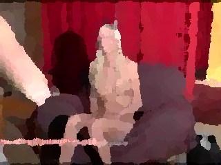 brilliant pornstar in couch casting