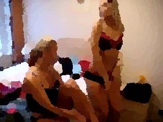 in bus naked european models
