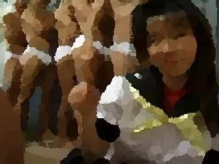 japanese schoolgirl bukkake asian