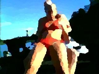 topless voyeur beach amateur milfs spy video